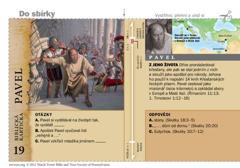 Biblická kartička – Pavel