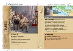 Библейска карта: Павел