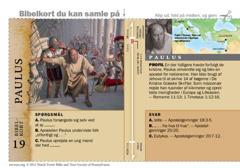 Bibelkort — Paulus