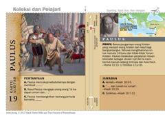 Kartu Alkitab Paulus