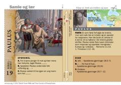 Bibelkort om Paulus