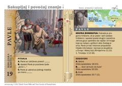 Biblijska kartica: Pavle