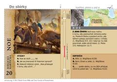 Biblická kartička – Noe