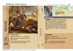 Noah Bible card