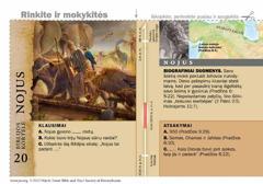 Biblijos kortelė apie Nojų
