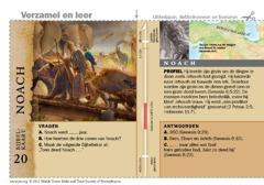 Bijbelkaart Noach