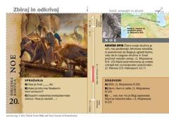 Biblijska kartica o Noetu