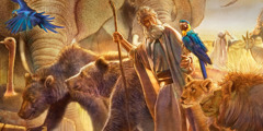 Noah and animals