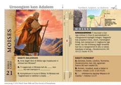 Bible card Moises