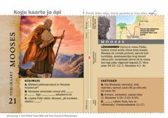 Piiblikaart: Mooses