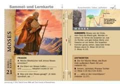 Bibelkarte Moses