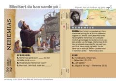 Bibelkort — Nehemias