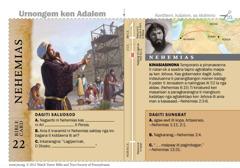 Bible card Nehemias