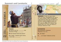 Bibelkarte Nehemia