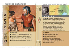 Bibliai kártya: Jonatán