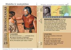 Biblijos kortelė apie Jehonataną