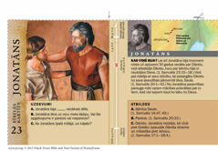 Bībeles kartīte: Jonatāns