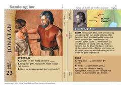 Bibelkort om Jonatan