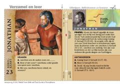 Bijbelkaart Jonathan