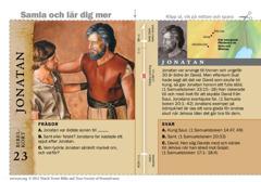 Bibelkort Jonatan
