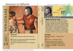 Karte ya Biblia ya Yonatani
