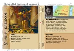 Biblijska kartica: Samson