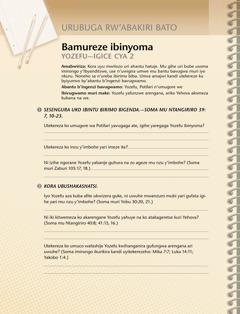 Umwitozo ushingiye kuri Bibiliya