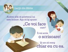 Lecție din Biblie pentru copii care poate fi descărcată