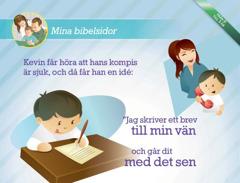 Nerladdningsbara bibelsidor för barn