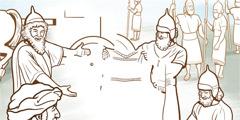 Gehasí og þjónn Naamans