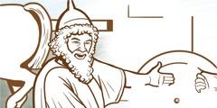 Гиезиј и слугата на Нааман