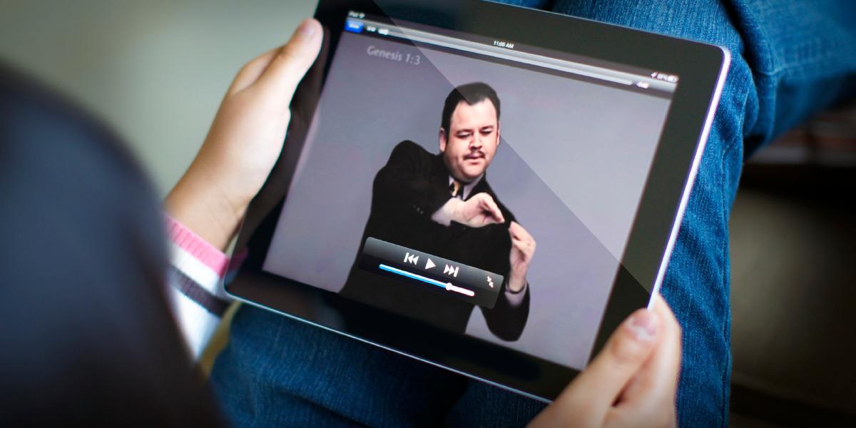 Deaf Celebrating Translation of First-ever Complete Sign Language Bible