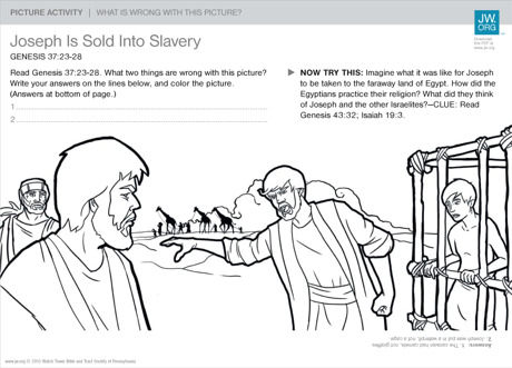 joseph is sold into slavery family picture activities zacchaeus bible story activities zacchaeus bible story activities via zacchaeus coloring page - Bible Story Coloring Pages Joseph