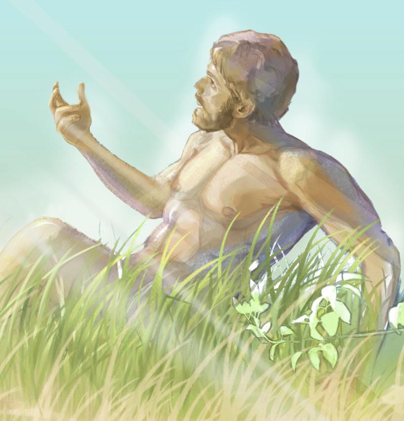 Kad je stvoren, Adam je postao živa duša