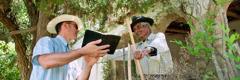 Jehoova tunnistaja kuulutamas Argentinas