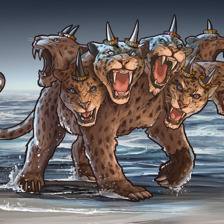 A fera de sete cabeças de Apocalipse capítulo 13