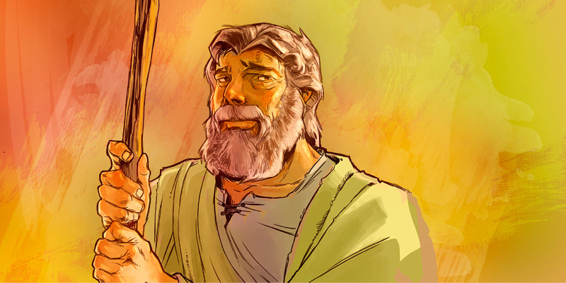Bible Character Card: Aaron