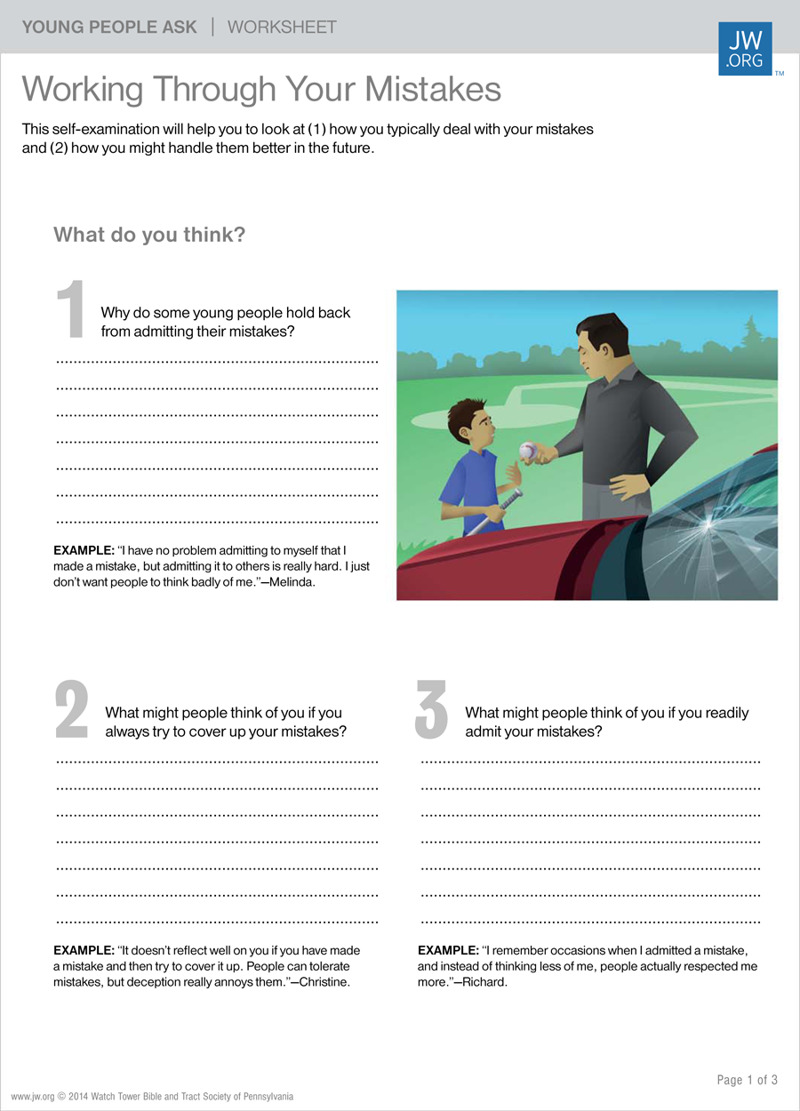 HD wallpapers accepting responsibility worksheets for kids ...