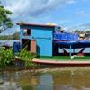 Laiva, kuru izmantoja, lai sludinātu Ksingu upes krastos