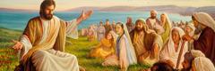 Jesus hanorin ema-lubun ne'ebé inklui mane, feto no labarik sira