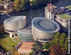 Bilding sa European Court of Human Rights (ECHR)