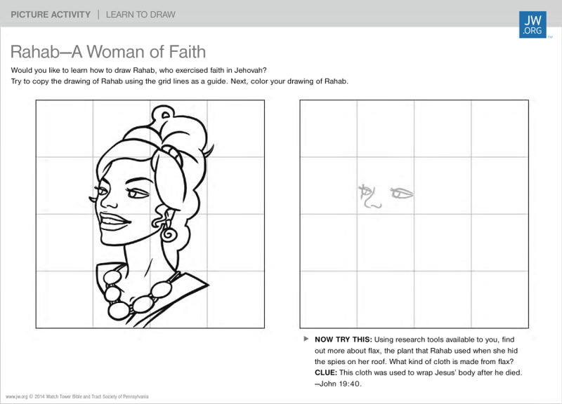 Rahab—A Woman of Faith | Family Picture Activities