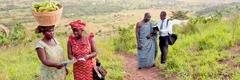 Jehoova tunnistajad kuulutamas Ghanas