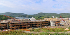 31. august2014 – Byggeplassen i Warwick