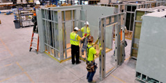Mayo 14, 2014—Off-site prefabrication center