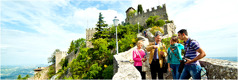 Jehovah's Witnesses preaching in San Marino