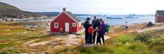 Testigokuna predicashanku Groenlandia nacionpi