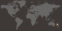 Norfolkeiland op de wereldkaart