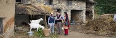 Témoins de Jéhovah prêchant la bonne nouvelle au Népal