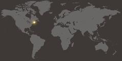 O mapa yoluali yi lekisa ofeka yo Estados Unidos